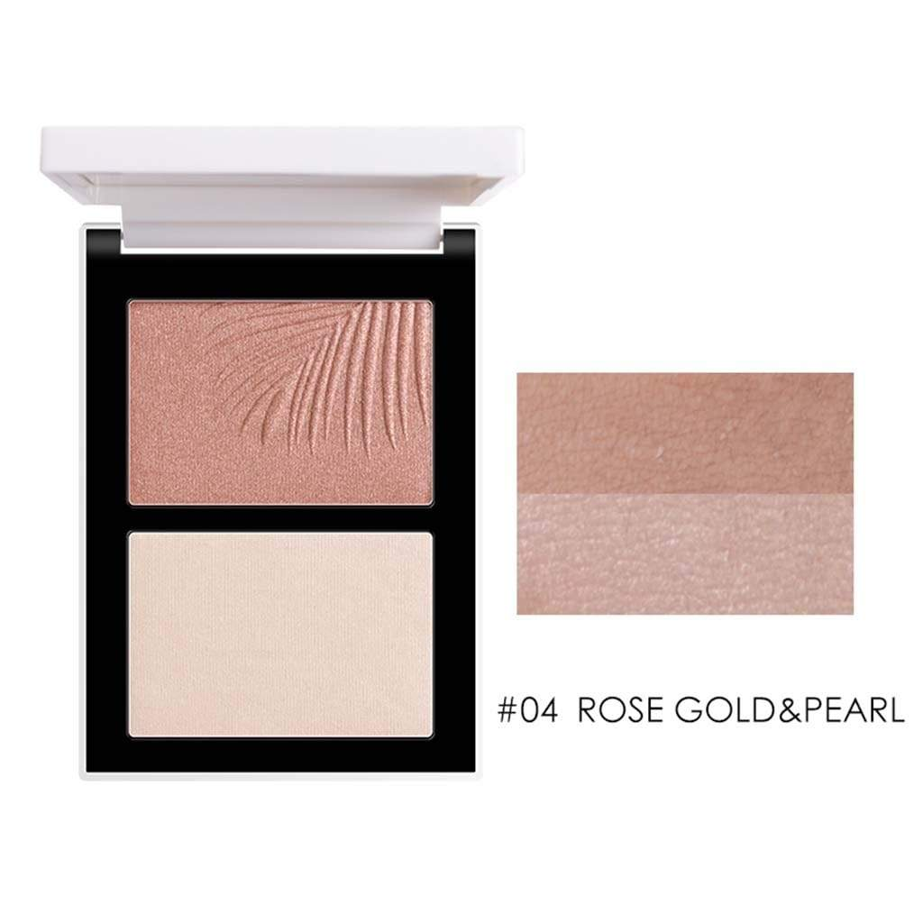 SCULPT & GLOW Powder Contour & Highlight Palette Duo - Laycy