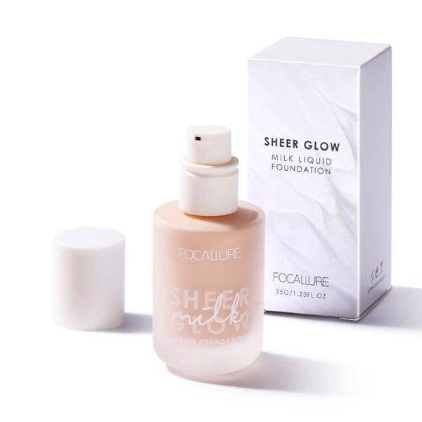 Sheer Glow Milk Liquid Foundation - Laycy