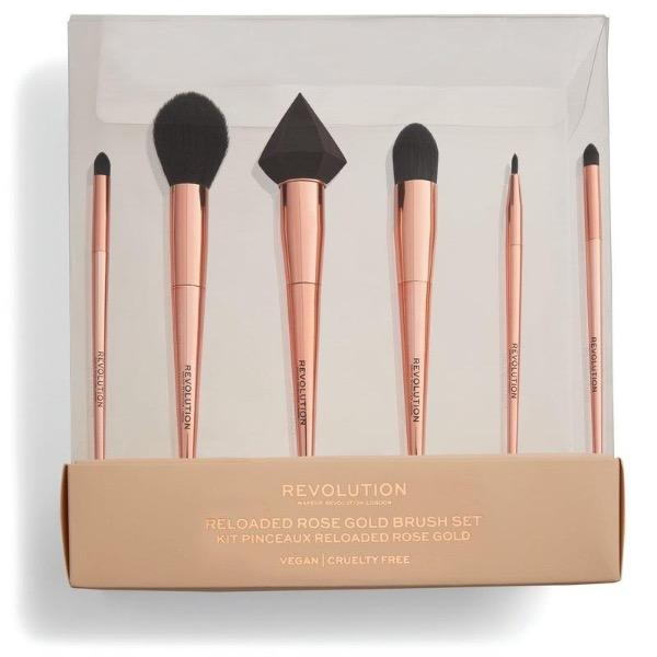 Reloaded Rose Gold Brush Set - Laycy