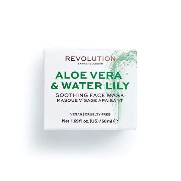 Aloe Vera & Water Lily Soothing Face Mask - Laycy