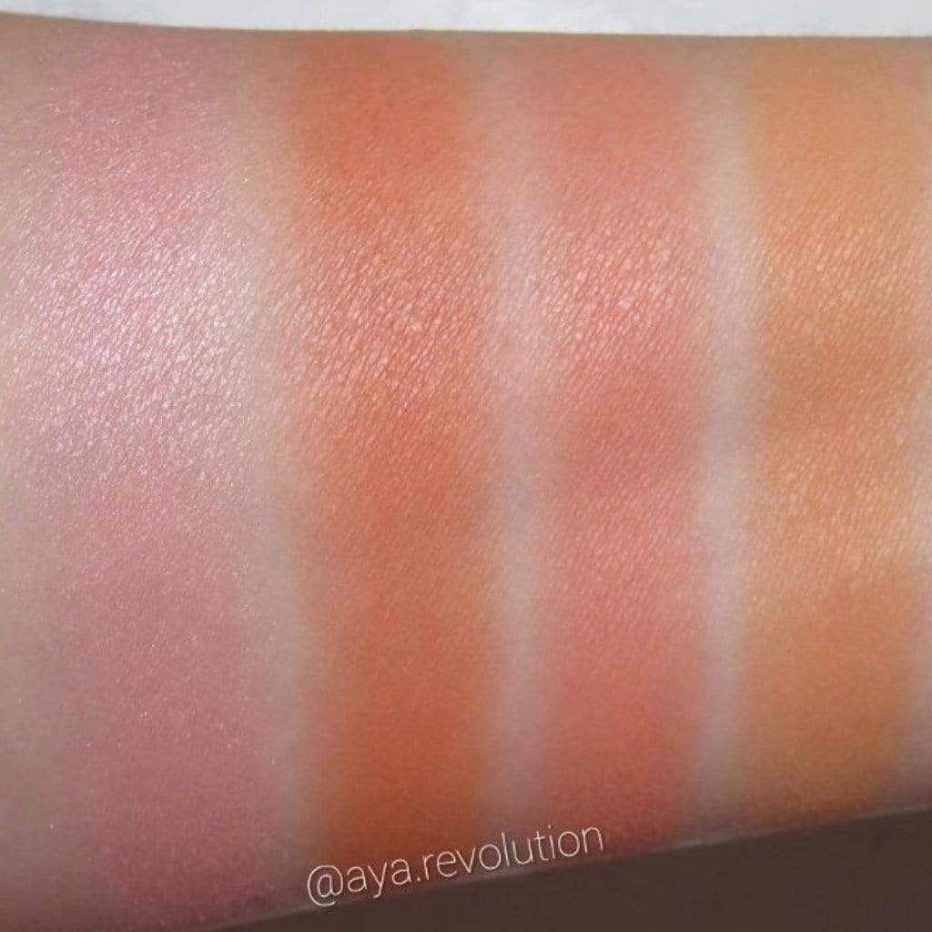 Pro 4K Blush Palette in Peach - Laycy