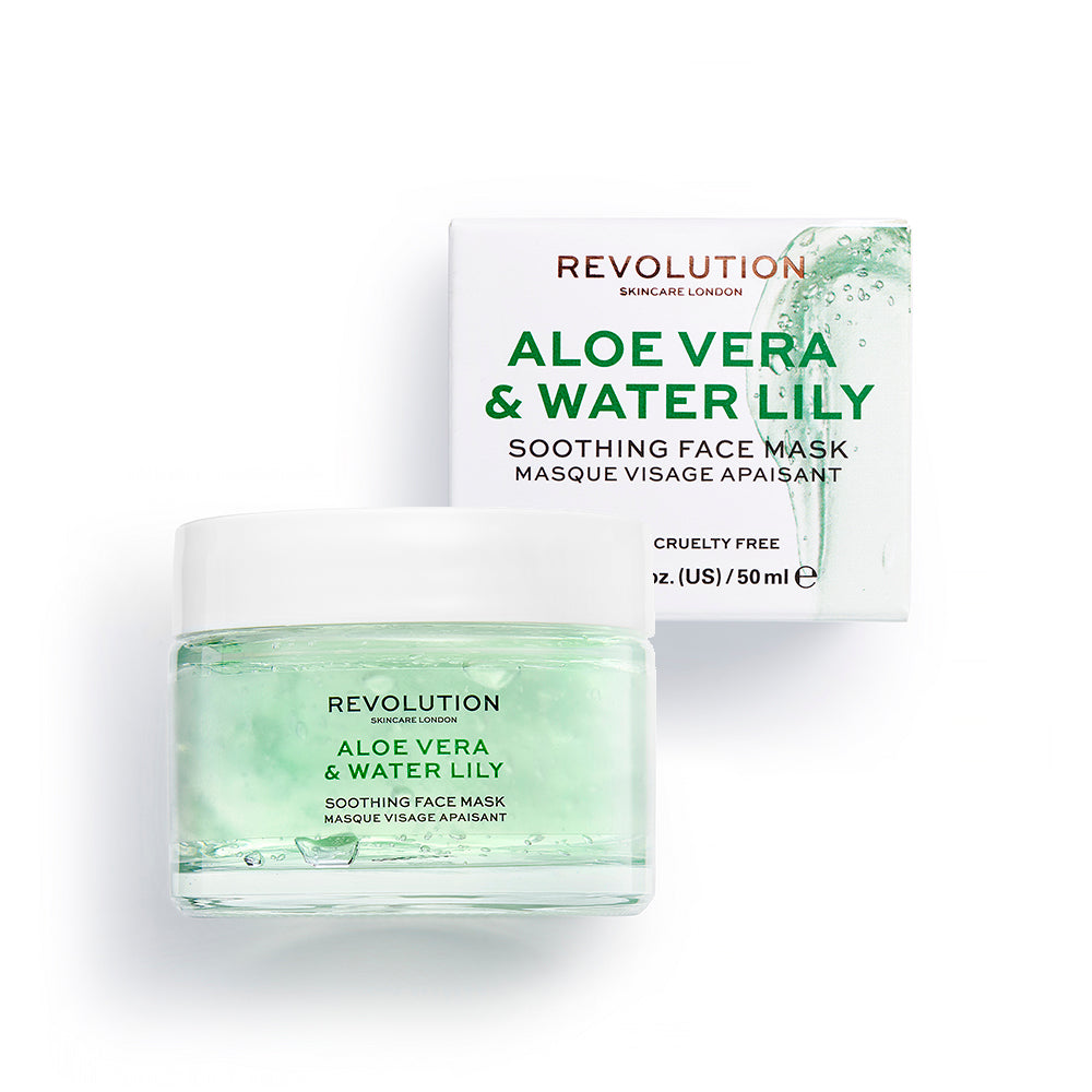 Aloe Vera & Water Lily Soothing Face Mask
