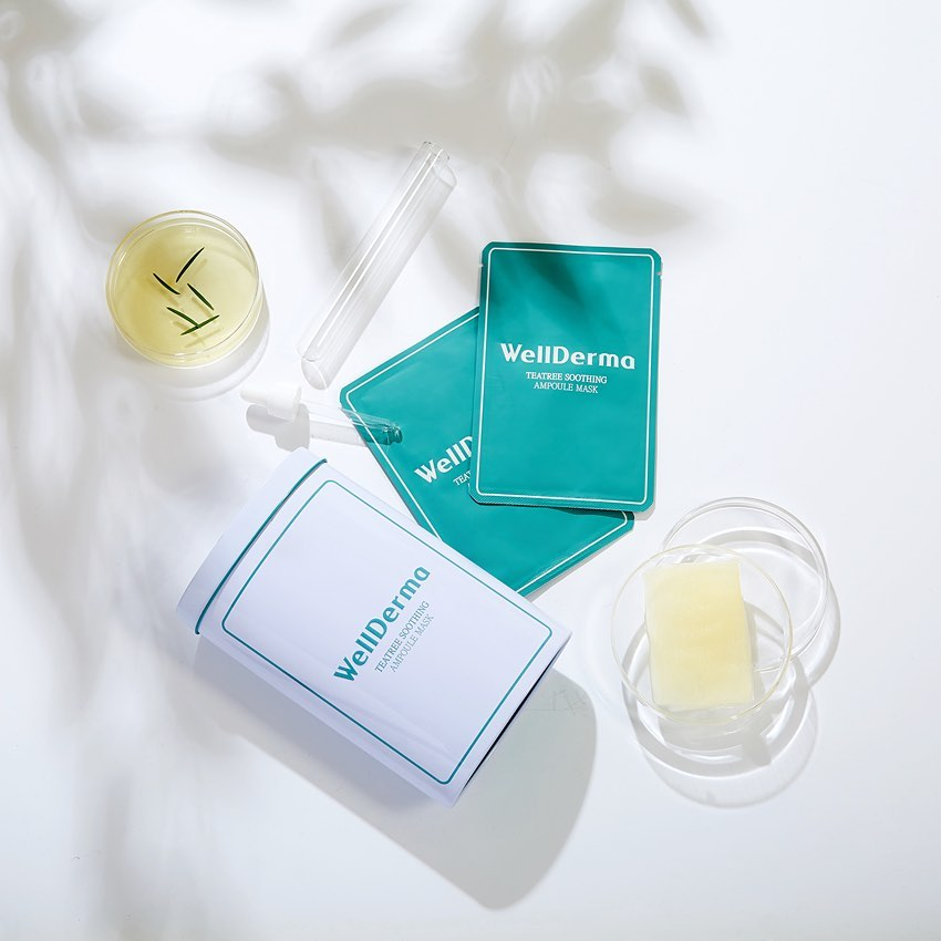 Tea Tree Trouble Care Ampoule Mask