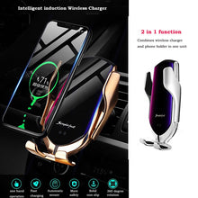 Load image into Gallery viewer, Car Wireless Phone Charger USB type C Car Vent Mount
