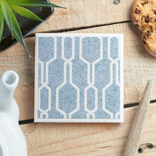 Load image into Gallery viewer, Denim Blue Coaster - Yellow Room Designs
