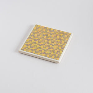 Honeycomb Coaster Set - Yellow Room Designs