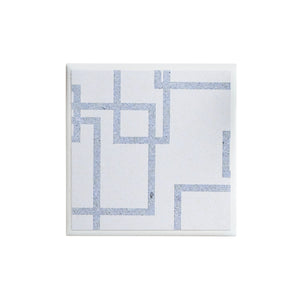 Denim White Coaster