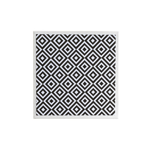 Monochrome Medium Diamond Coaster
