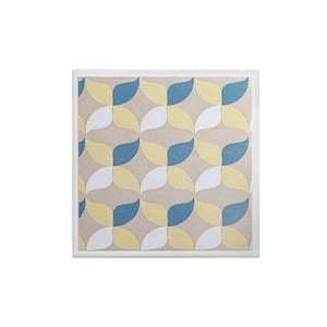 Retro Geometric Single Coaster