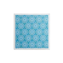 Load image into Gallery viewer, Teal Lace Single Coaster