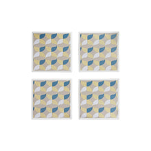 Load image into Gallery viewer, Retro Geometric Coaster Set
