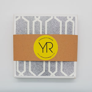 Denim Blue Coaster Mini Gift Set - Yellow Room Designs