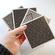 Load image into Gallery viewer, Wonky Coasters - Set 2