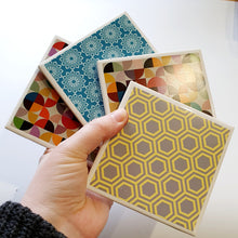 Load image into Gallery viewer, Wonky Coasters - Set 4