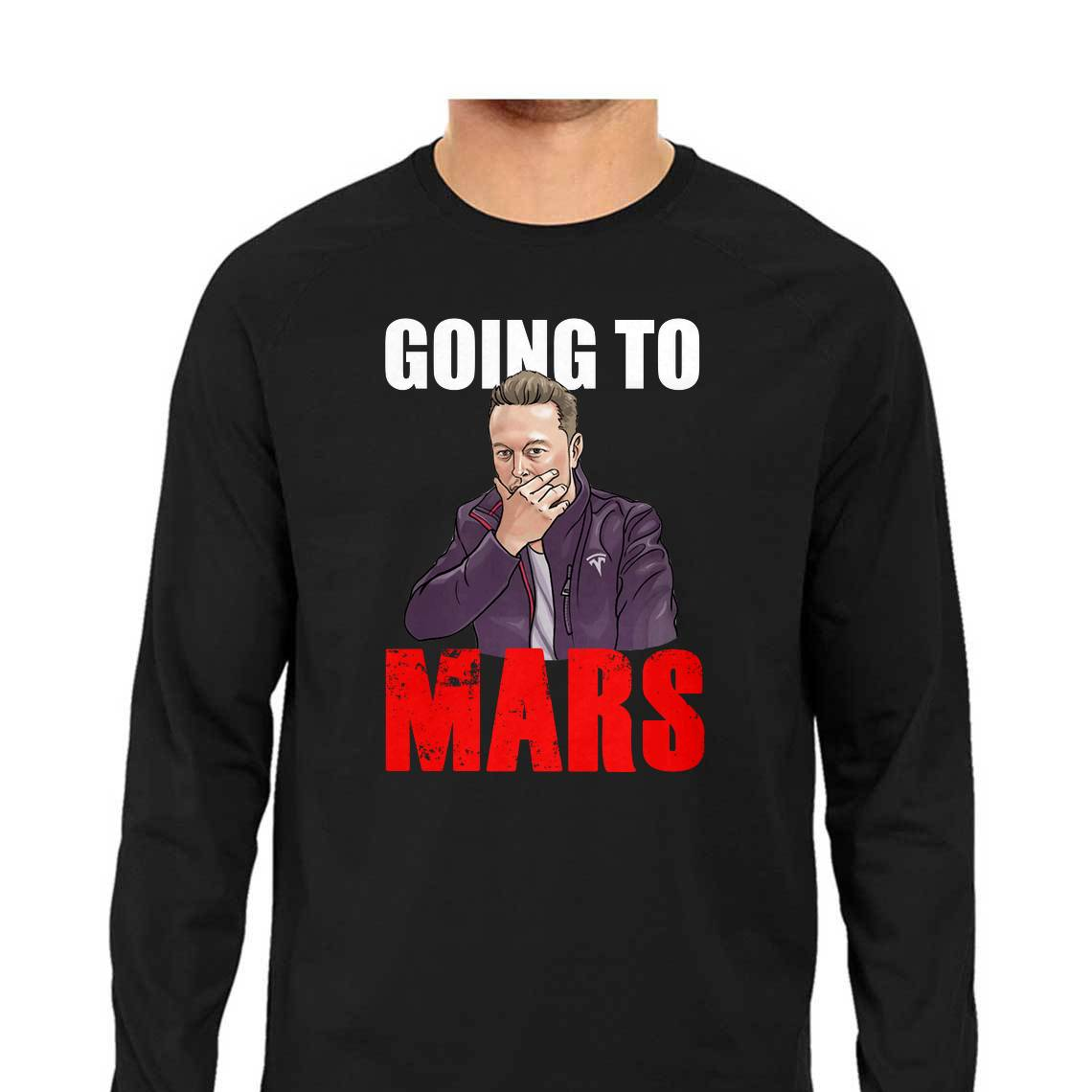Elon Musk - Going to Mars Full Sleeve T-Shirt