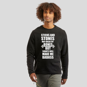 Sticks and Stones Full Sleeve T-Shirt | Premium Collection