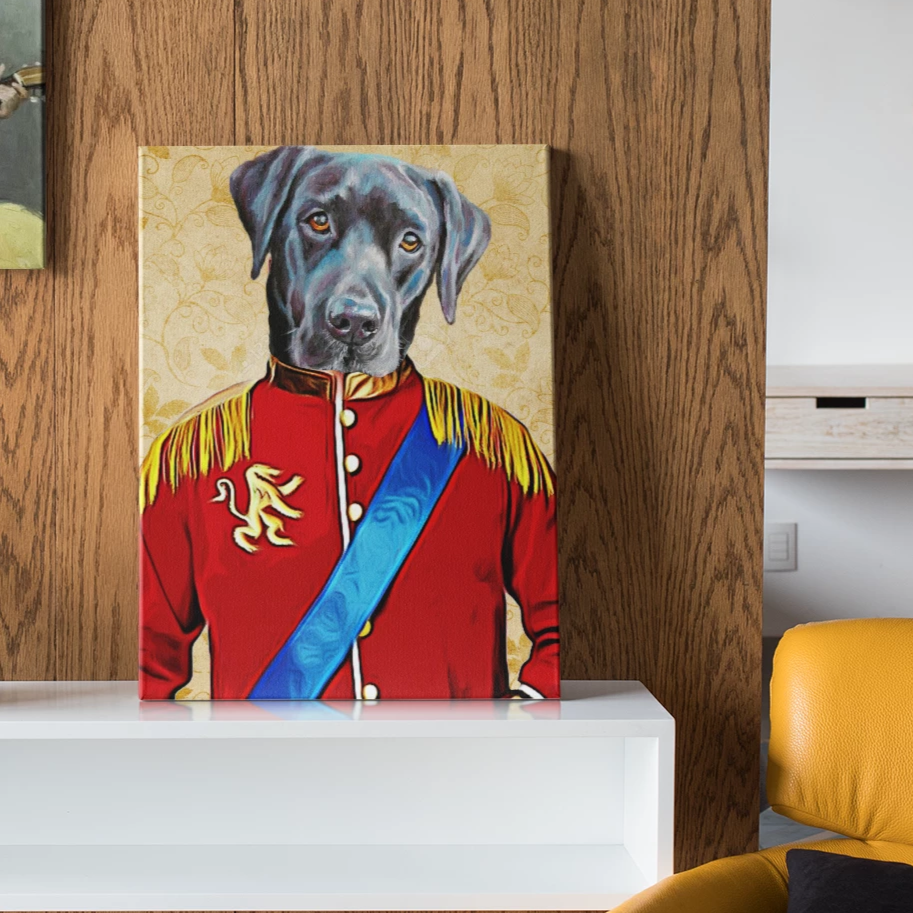 Emperor - Custom Pet Canvas