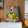 Football Player - Custom Pet Canvas