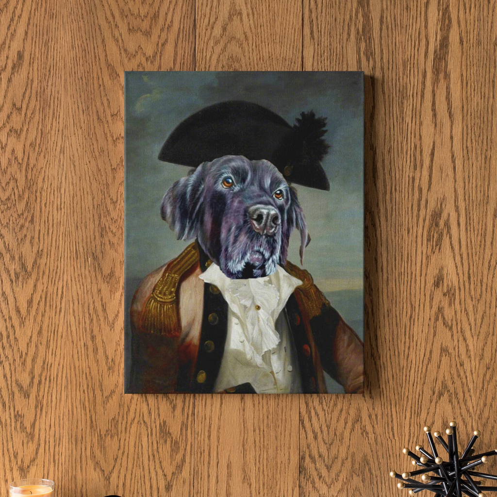 Army Officer - Custom Pet Canvas