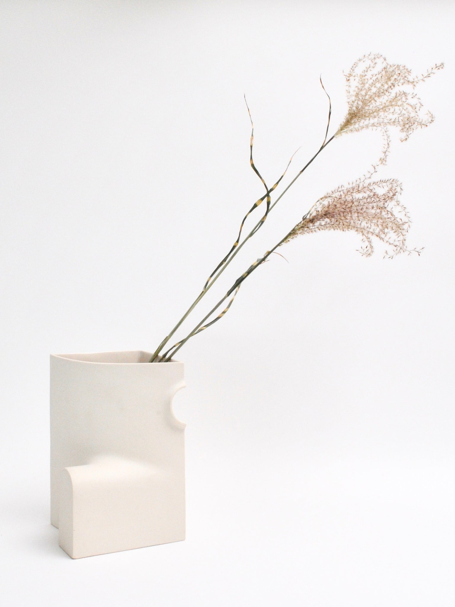 Section C Vase in Dove