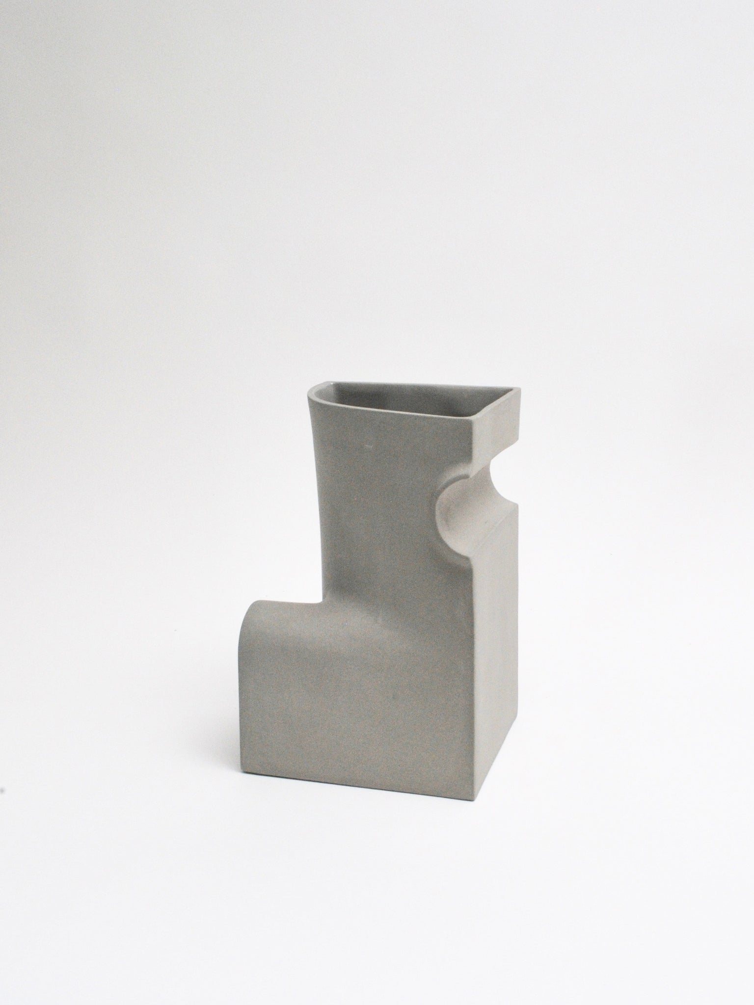 Section C Vase in Concrete