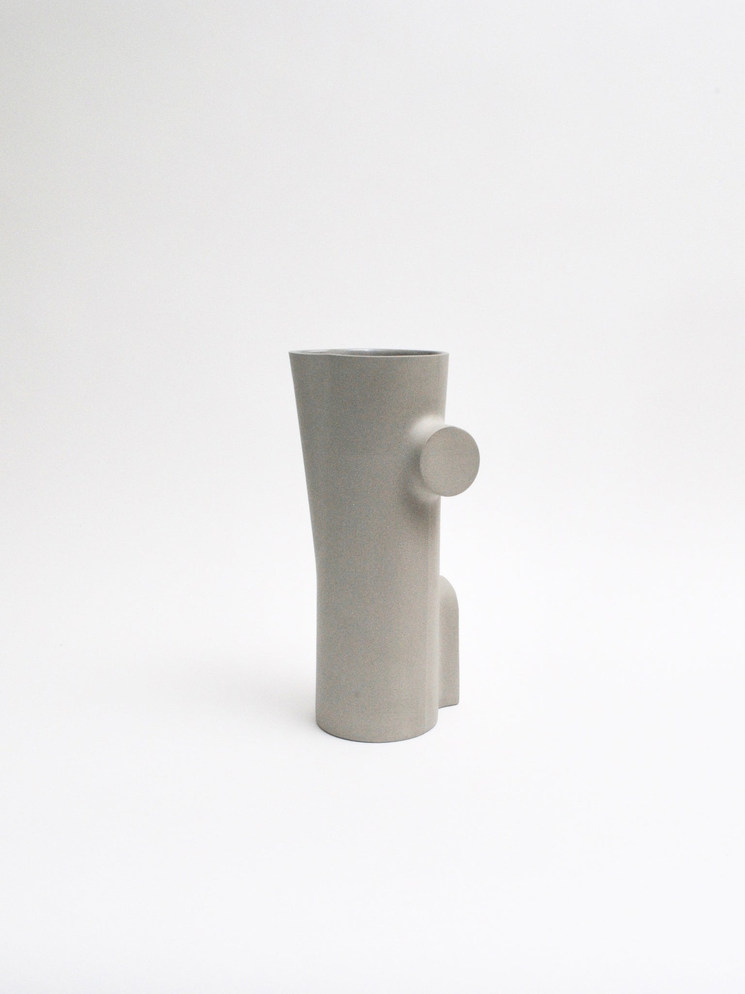 Section B Vase in Cement