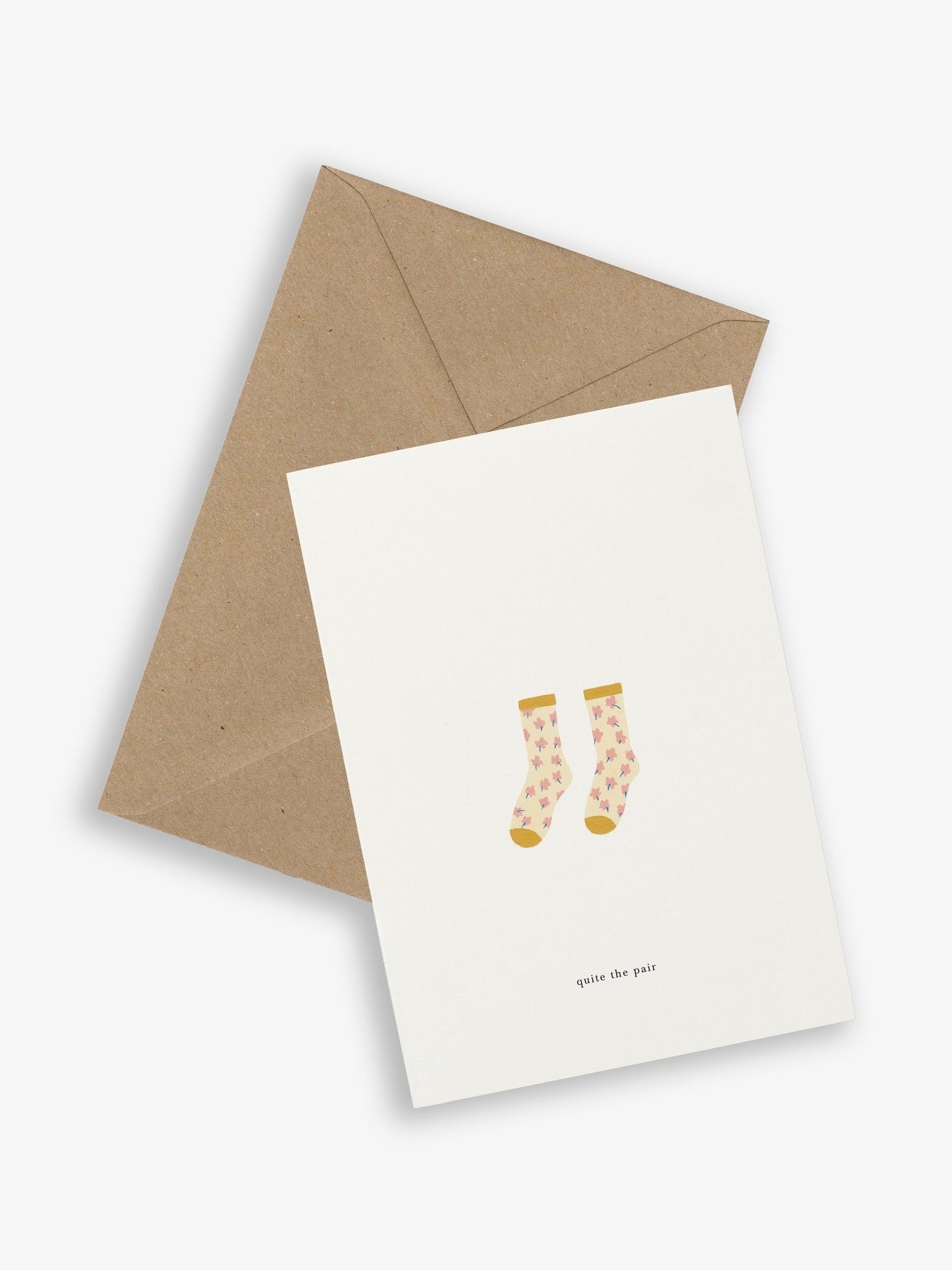 SOCKS CARD