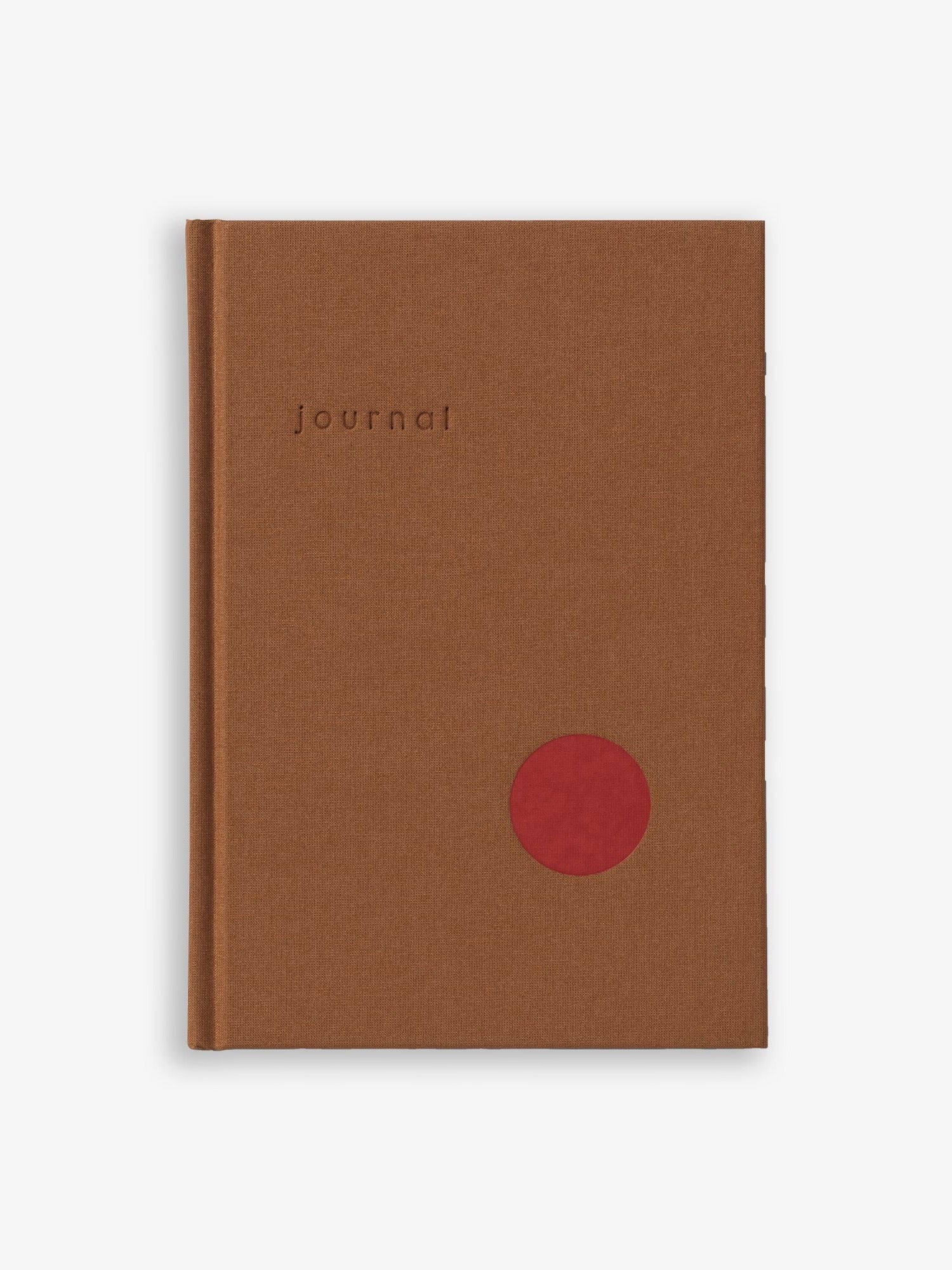 Ochre Hardcover Journal