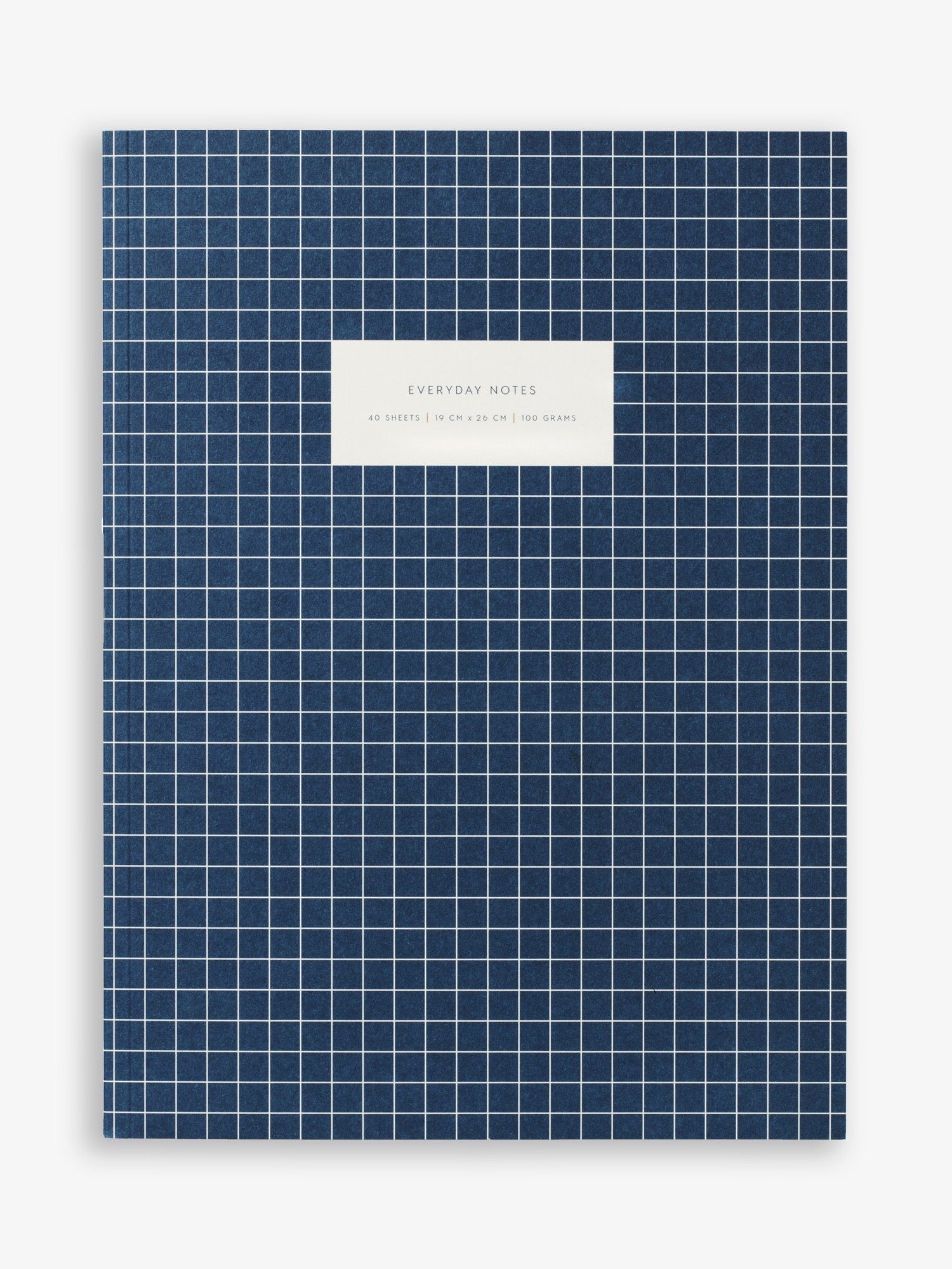 Blue Check Notebook