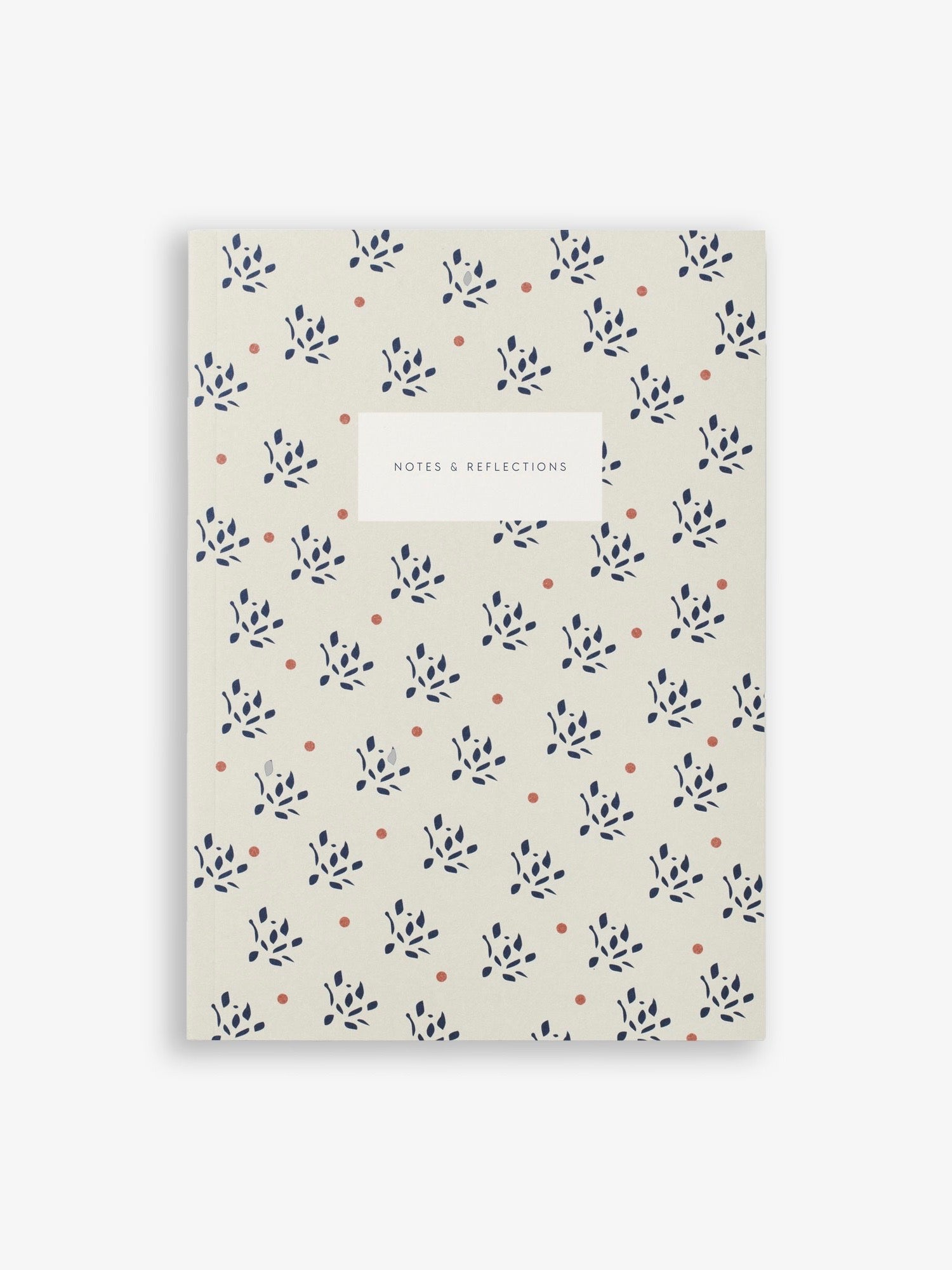 Sand Floral Notebook