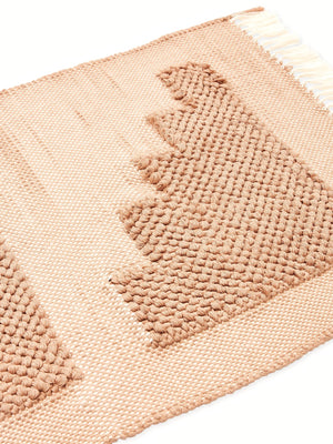 Steps Mat in Beige