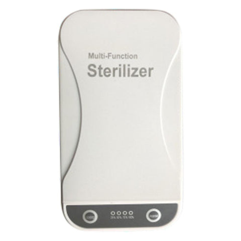 Multi-functional UV Sterilizer Masks Nail Clippers Jewelry Mobile Phones UV Disinfection Sterilizer Box Sterilizer Tool
