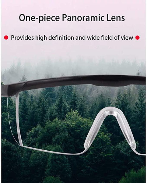 Outdoor Safety Goggles Waterproof Dustproof Glasses Prevent Droplets Safety Eyewear Impact-Resistance Glass