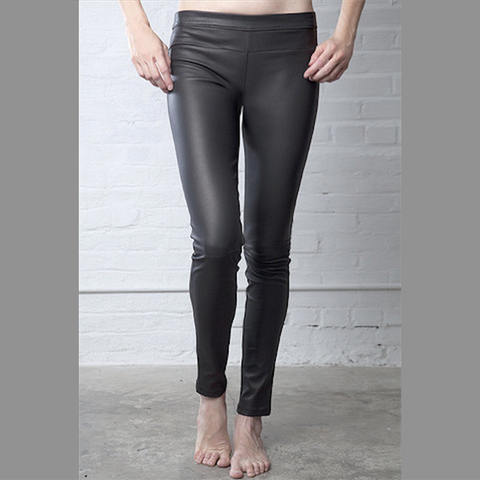 Daryl K Leather Leggings Size 8