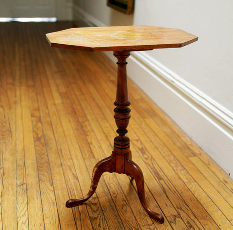 Federal Style Birch Candlestand