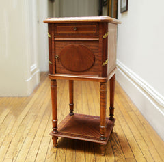 Marble Top Chamber Pot Stand