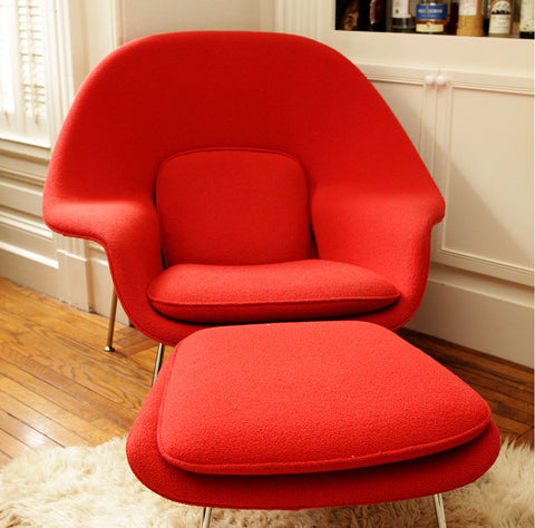 Chair & Ottoman by Knoll