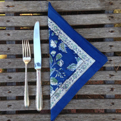 Briar Rose Blue Napkins by Anokhi