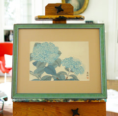Two Blue Hydrangeas