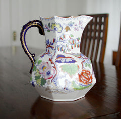 ASHWORTH MASON CHINOISERIE Pitcher