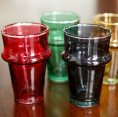 Moroccan Glasses - Set of 4