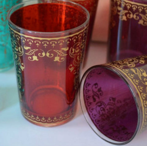 Sweet Moroccan Tea Glasses - Set of 6