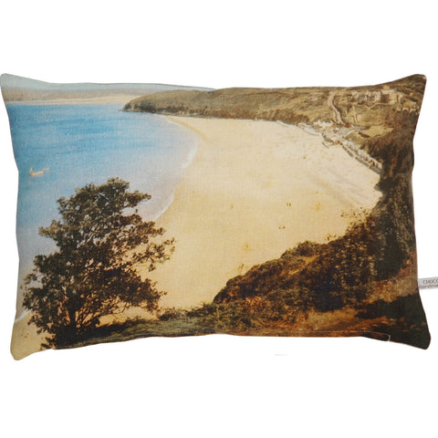 English Beach Pillow