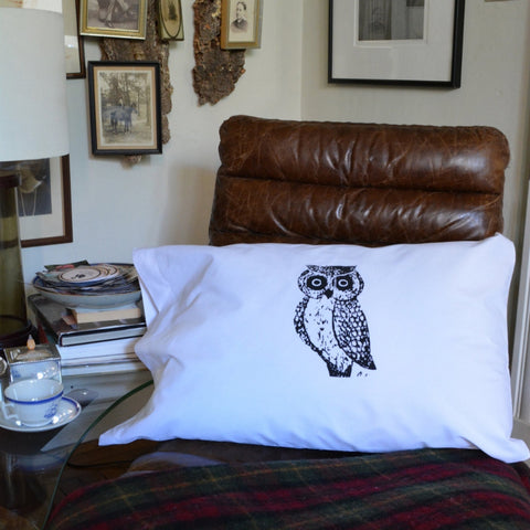 Pair of Owl Pillowcases