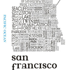 Word Map of San Francisco