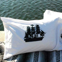 Pair of Ship Pillowcases
