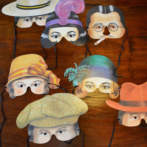 Roaring Twenties Masks