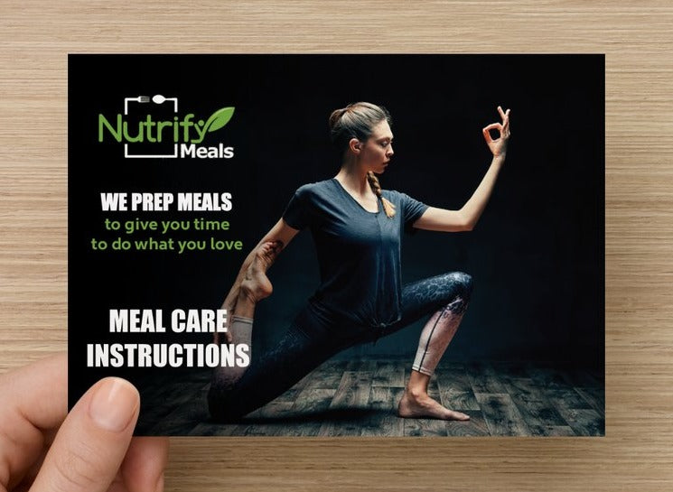 Meal Care Techniques