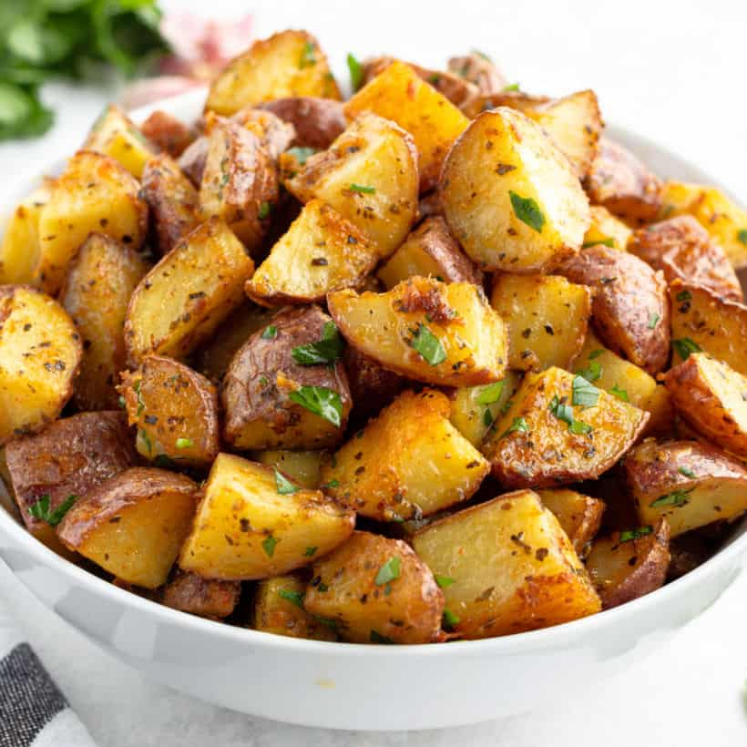 Roasted Russet Potatoes - Nutrify Prep