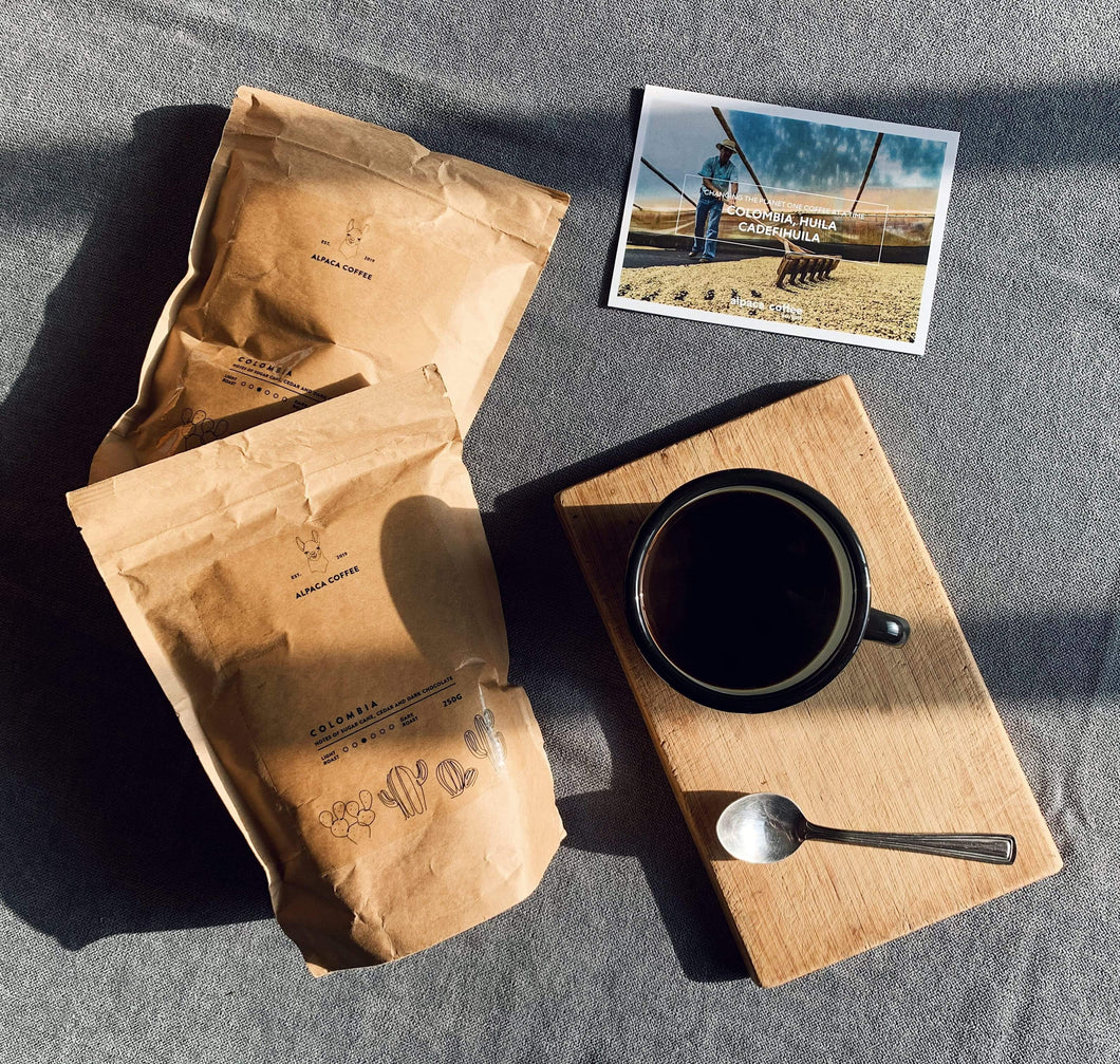 Plastic free coffee subscription